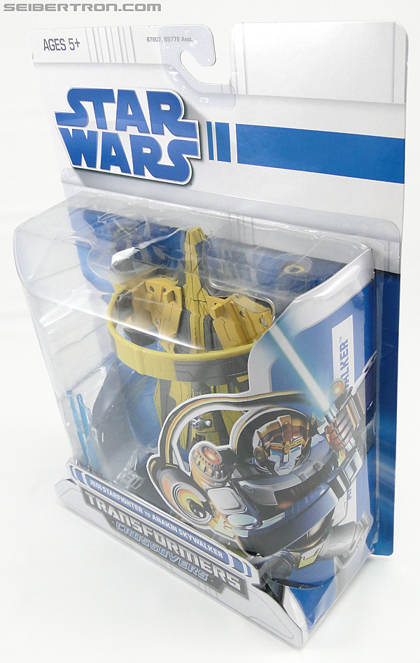 Star Wars Transformers Anakin Skywalker (Jedi Starfighter with Hyperspace Docking Ring) (Image #13 of 131)