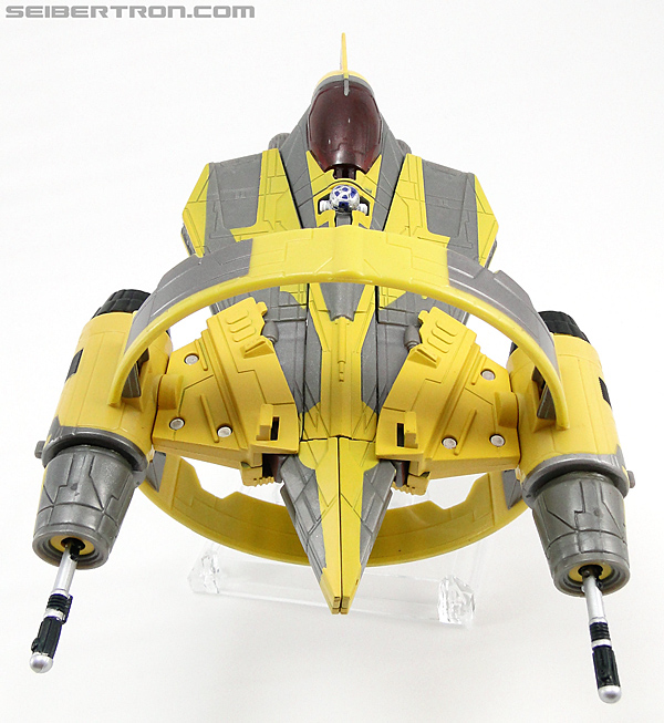 Star Wars Transformers Anakin Skywalker (Jedi Starfighter with Hyperspace Docking Ring) (Image #18 of 131)