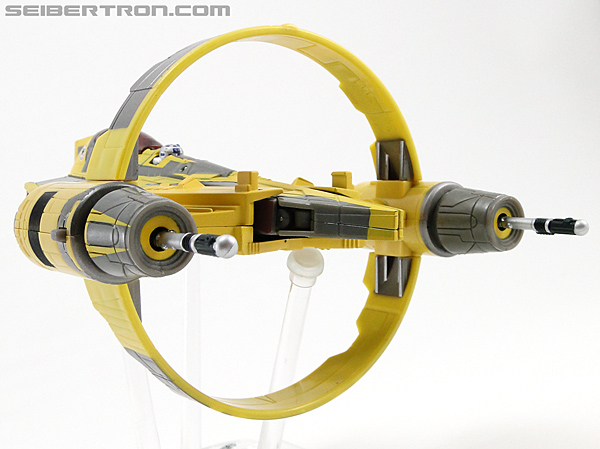 Star Wars Transformers Anakin Skywalker (Jedi Starfighter with Hyperspace Docking Ring) (Image #20 of 131)