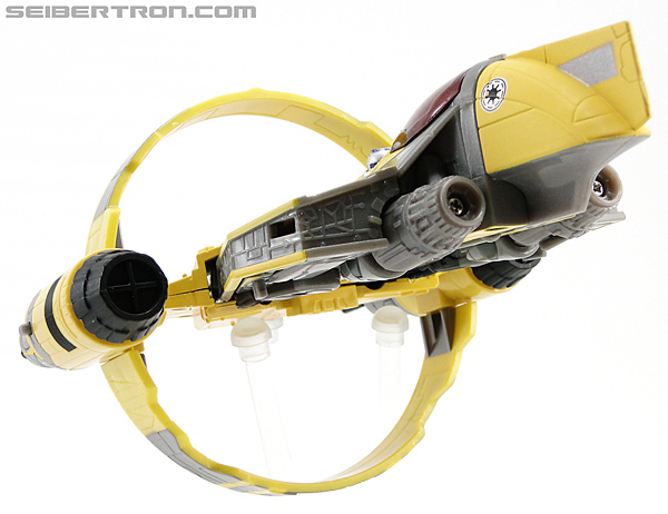 Star Wars Transformers Anakin Skywalker (Jedi Starfighter with Hyperspace Docking Ring) (Image #25 of 131)