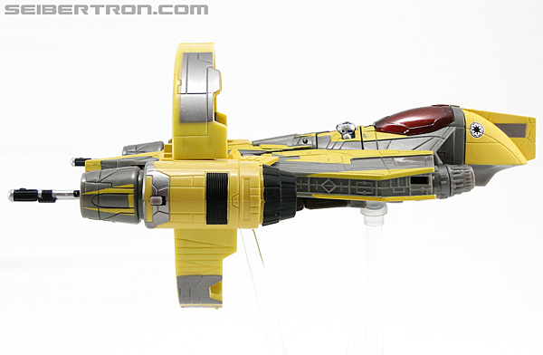 Star Wars Transformers Anakin Skywalker (Jedi Starfighter with Hyperspace Docking Ring) (Image #26 of 131)