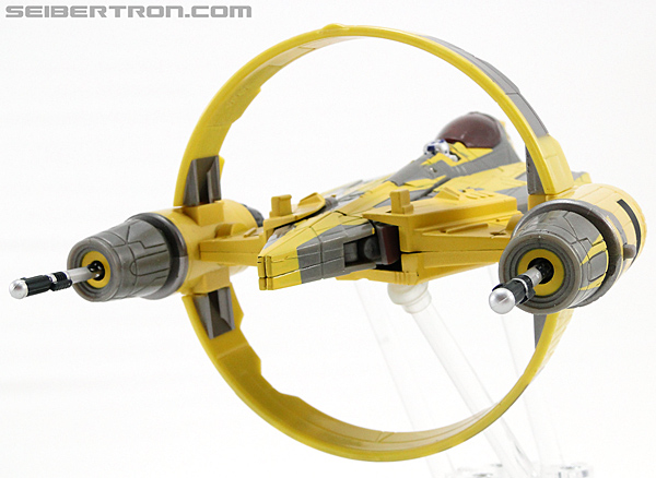 Star Wars Transformers Anakin Skywalker (Jedi Starfighter with Hyperspace Docking Ring) (Image #27 of 131)
