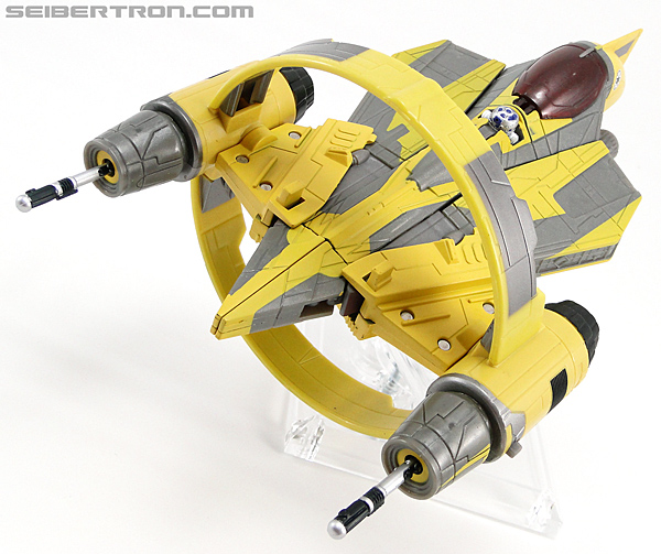 Star Wars Transformers Anakin Skywalker (Jedi Starfighter with Hyperspace Docking Ring) (Image #28 of 131)
