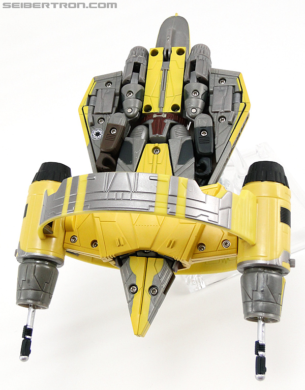 Star Wars Transformers Anakin Skywalker (Jedi Starfighter with Hyperspace Docking Ring) (Image #30 of 131)