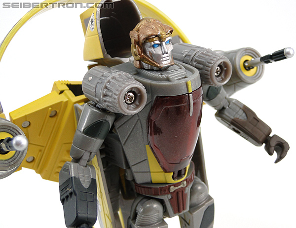 Star Wars Transformers Anakin Skywalker (Jedi Starfighter with Hyperspace Docking Ring) (Image #47 of 131)