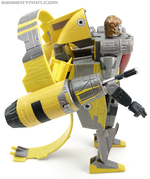 Star Wars Transformers Anakin Skywalker (Jedi Starfighter with Hyperspace Docking Ring) (Image #50 of 131)