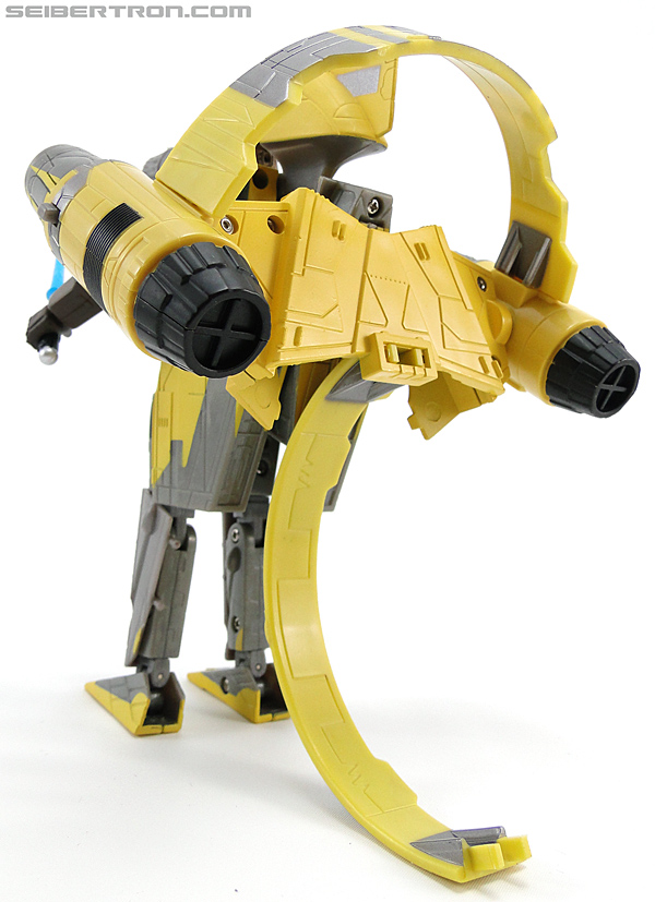 Star Wars Transformers Anakin Skywalker (Jedi Starfighter with Hyperspace Docking Ring) (Image #56 of 131)