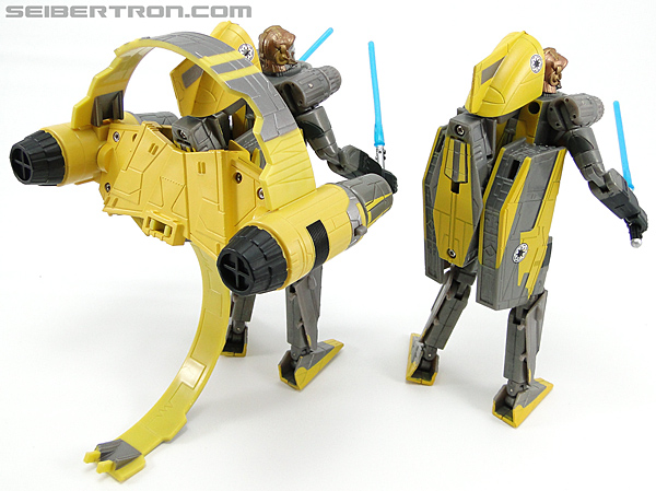 Star Wars Transformers Anakin Skywalker (Jedi Starfighter with Hyperspace Docking Ring) (Image #108 of 131)