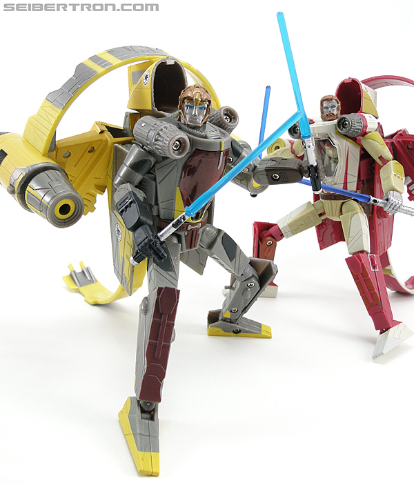 Star Wars Transformers Anakin Skywalker (Jedi Starfighter with Hyperspace Docking Ring) (Image #115 of 131)