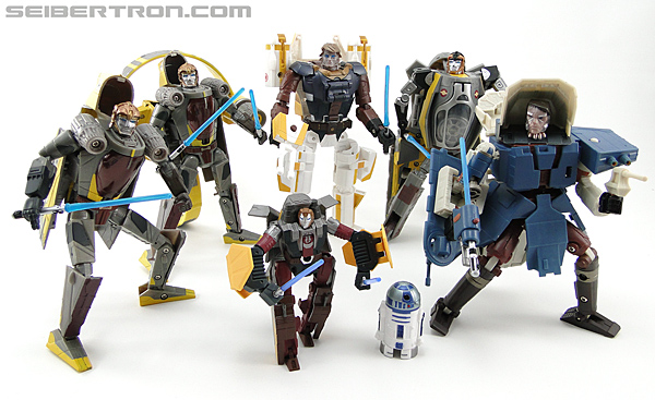 Star Wars Transformers Anakin Skywalker (Jedi Starfighter with Hyperspace Docking Ring) (Image #120 of 131)