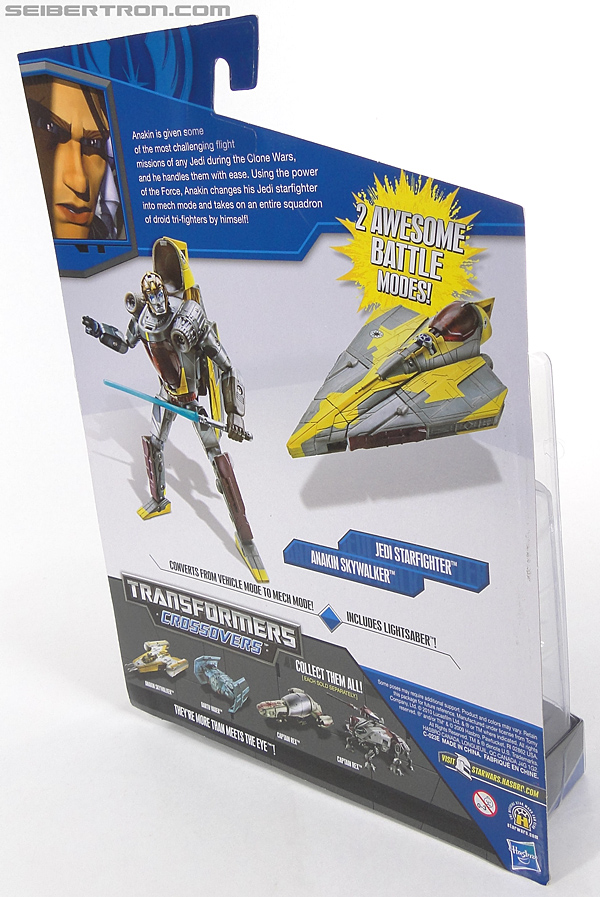 Star Wars Transformers Anakin Skywalker (Jedi Starfighter) (Image #6 of 108)