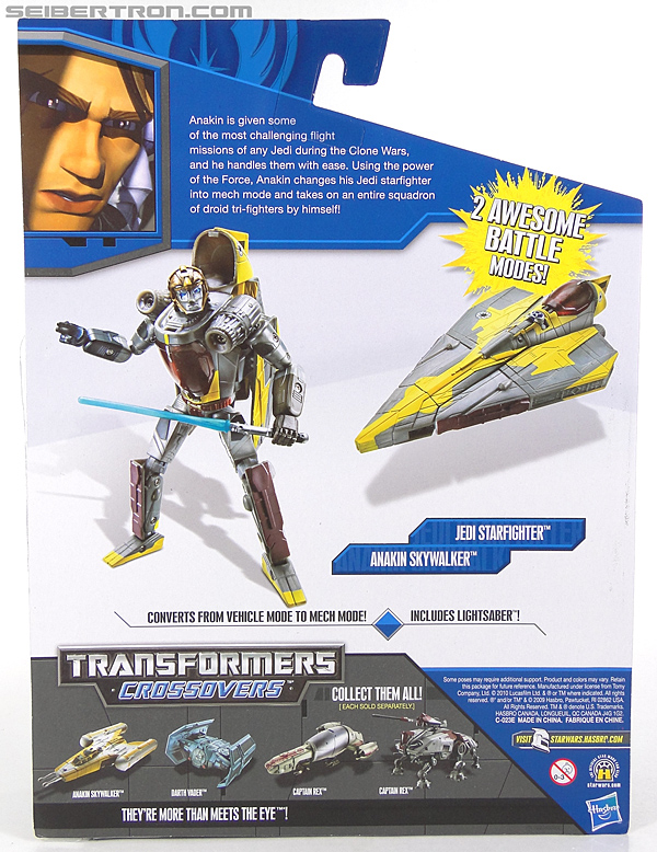 Star Wars Transformers Anakin Skywalker (Jedi Starfighter) (Image #7 of 108)