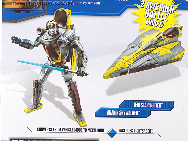 Star Wars Transformers Anakin Skywalker (Jedi Starfighter) (Image #9 of 108)