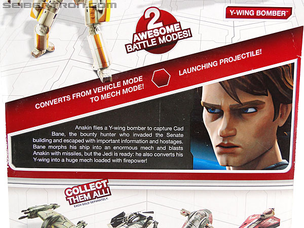 Star Wars Transformers Anakin Skywalker (Y-Wing Bomber) (Image #7 of 106)