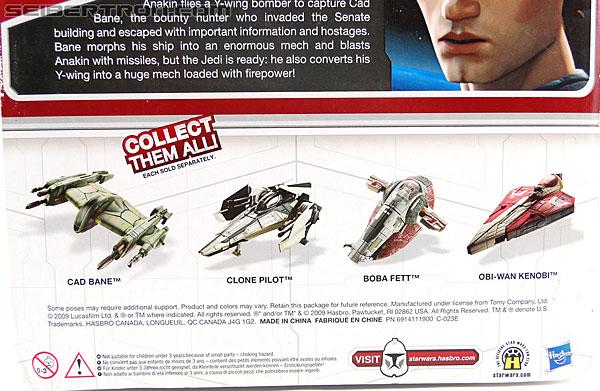 Star Wars Transformers Anakin Skywalker (Y-Wing Bomber) (Image #9 of 106)