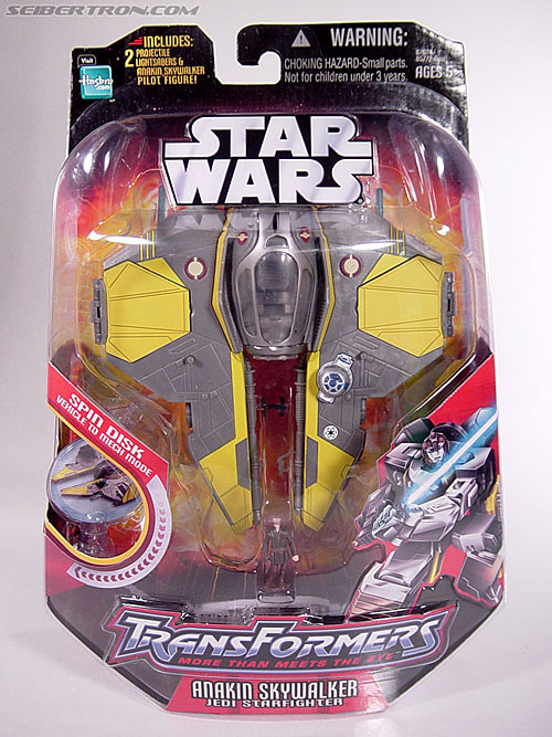 Star Wars Transformers Anakin Skywalker (Jedi Starfighter) (Image #1 of 75)
