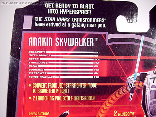 Star Wars Transformers Anakin Skywalker (Jedi Starfighter) (Image #7 of 75)