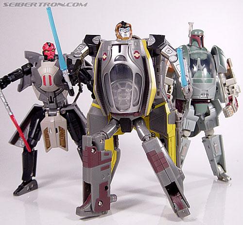 Star Wars Transformers Anakin Skywalker (Jedi Starfighter) (Image #74 of 75)