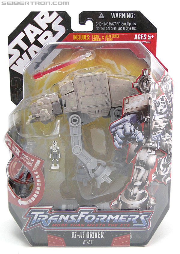 Star Wars Transformers AT-AT Driver (AT-AT) (Image #1 of 161)