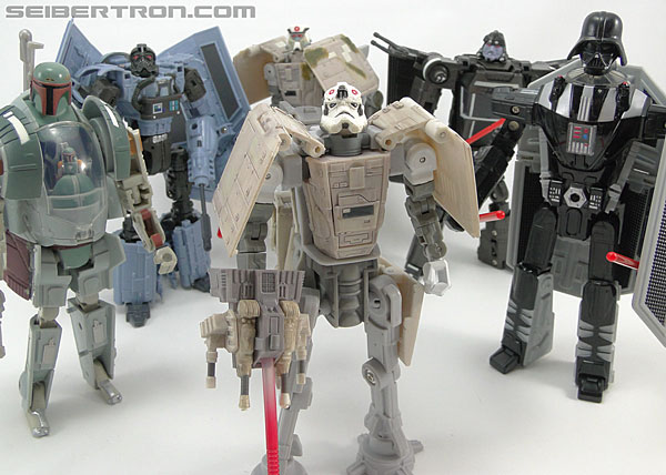 Star Wars Transformers AT-AT Driver (AT-AT) (Image #150 of 161)
