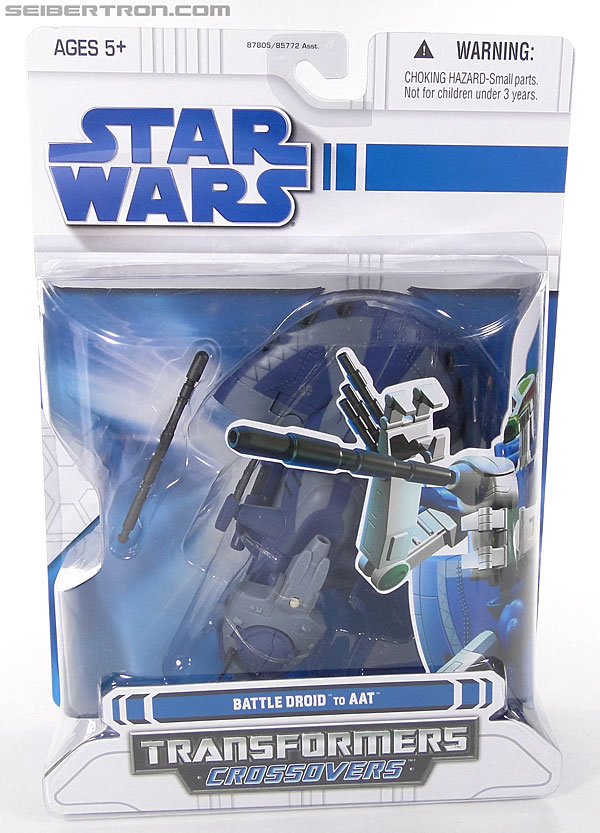 Star Wars Transformers Battle Droid (AAT) (Image #1 of 97)