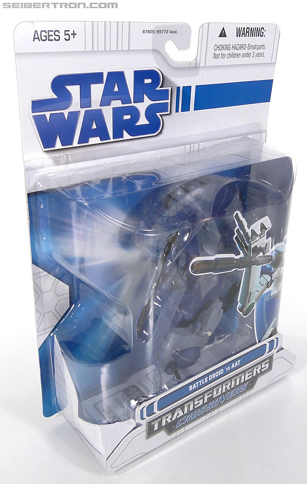 Star Wars Transformers Battle Droid (AAT) (Image #3 of 97)