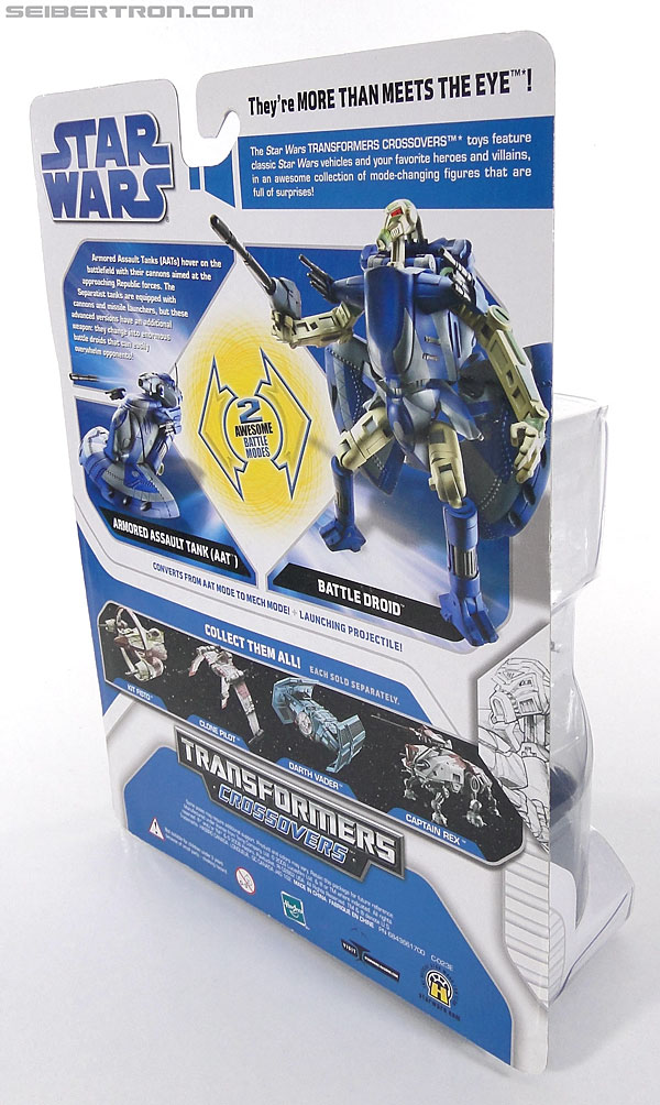 Star Wars Transformers Battle Droid (AAT) (Image #4 of 97)