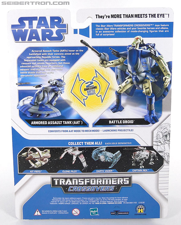 Star Wars Transformers Battle Droid (AAT) (Image #5 of 97)