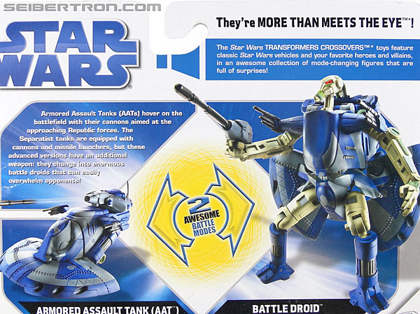 Star Wars Transformers Battle Droid (AAT) (Image #6 of 97)