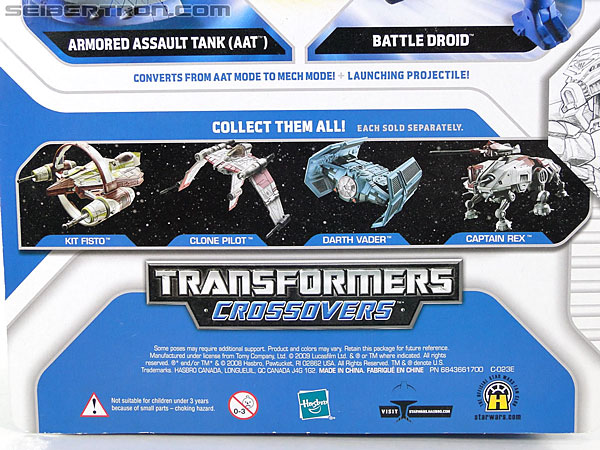 Star Wars Transformers Battle Droid (AAT) (Image #9 of 97)
