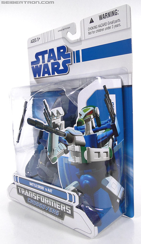 Star Wars Transformers Battle Droid (AAT) (Image #11 of 97)