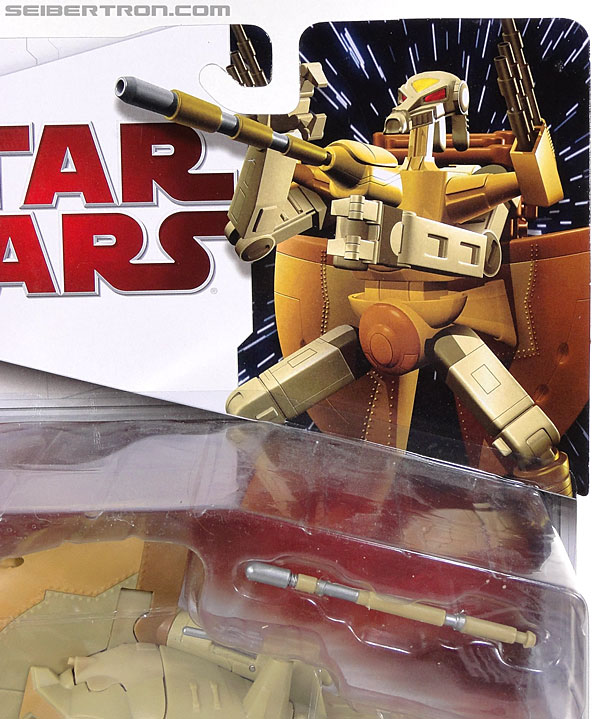 Star Wars Transformers Battle Droid Commader (Armored Assault Tank) (Battle Droid Commader) (Image #2 of 85)