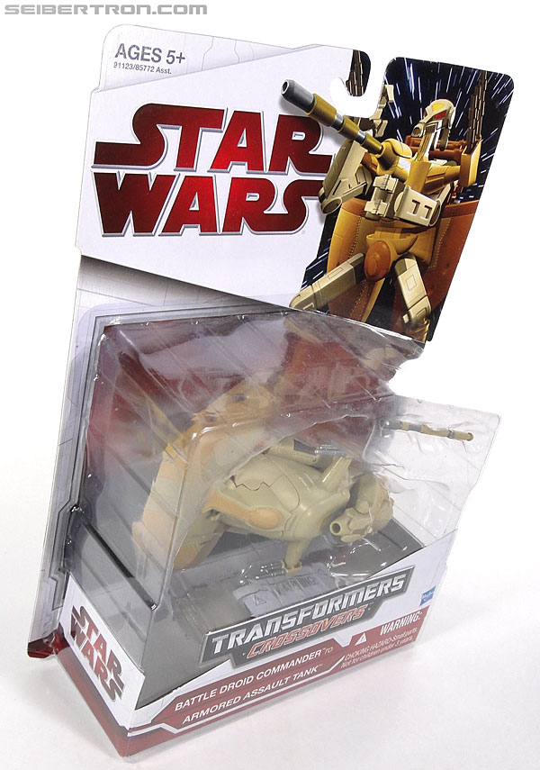 Star Wars Transformers Battle Droid Commader (Armored Assault Tank) (Battle Droid Commader) (Image #4 of 85)