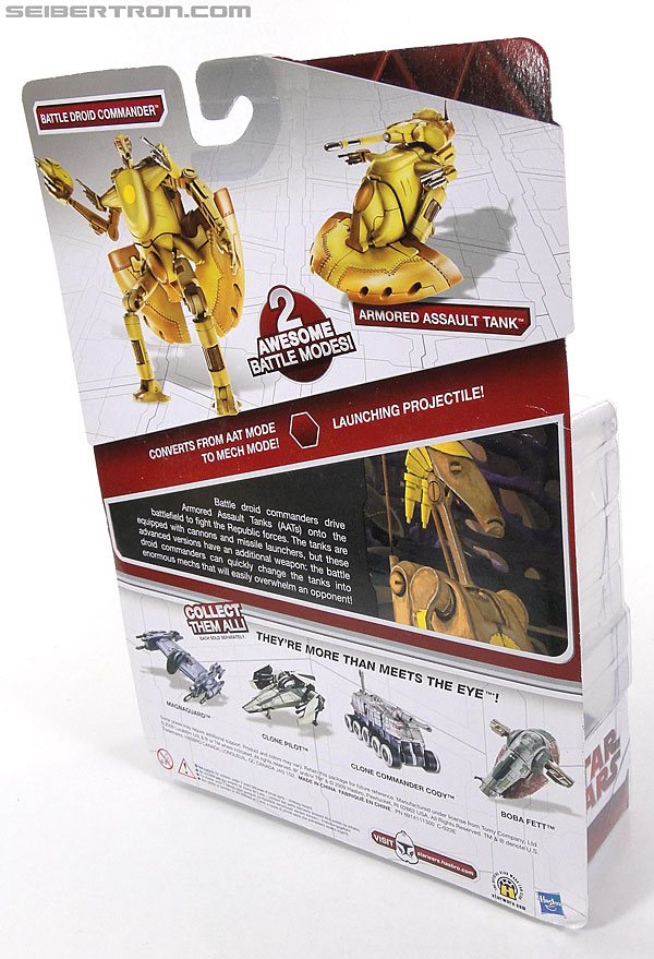 Star Wars Transformers Battle Droid Commader (Armored Assault Tank) (Battle Droid Commader) (Image #5 of 85)