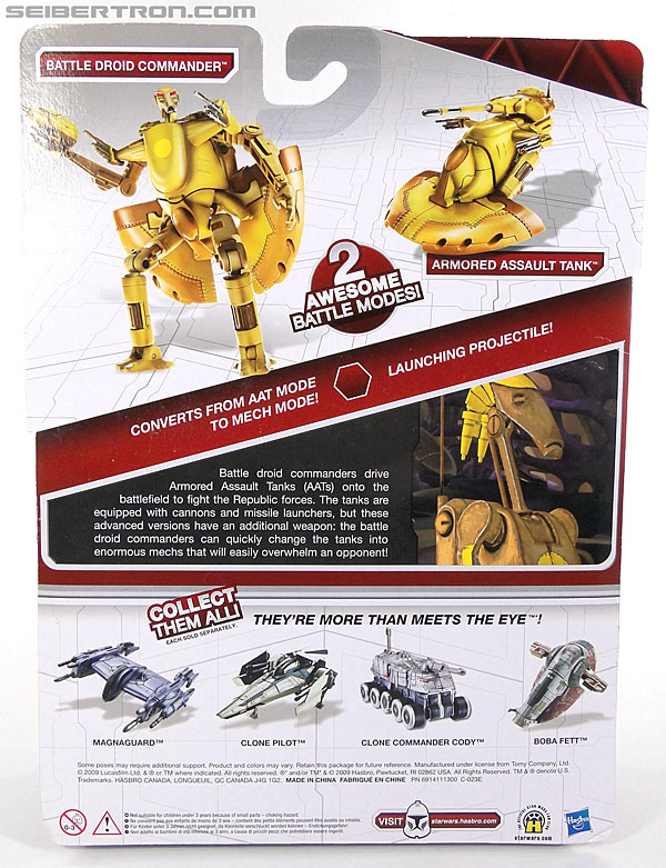 Star Wars Transformers Battle Droid Commader (Armored Assault Tank) (Battle Droid Commader) (Image #6 of 85)