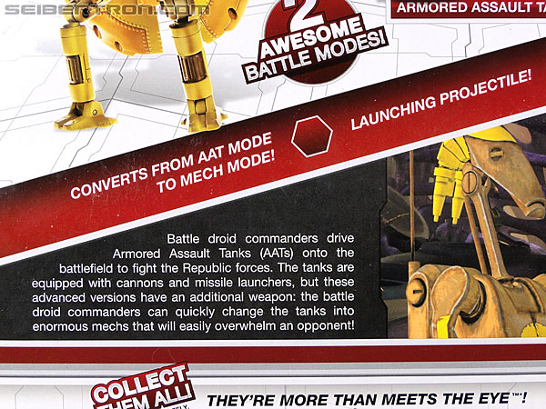 Star Wars Transformers Battle Droid Commader (Armored Assault Tank) (Battle Droid Commader) (Image #7 of 85)