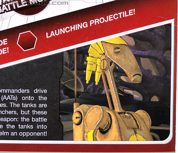 Star Wars Transformers Battle Droid Commader (Armored Assault Tank) (Battle Droid Commader) (Image #8 of 85)