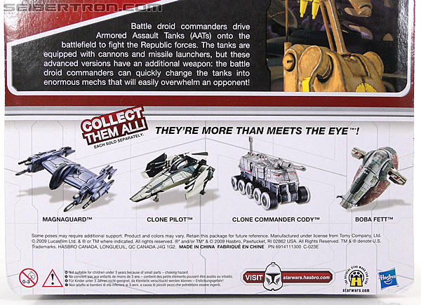Star Wars Transformers Battle Droid Commader (Armored Assault Tank) (Battle Droid Commader) (Image #9 of 85)