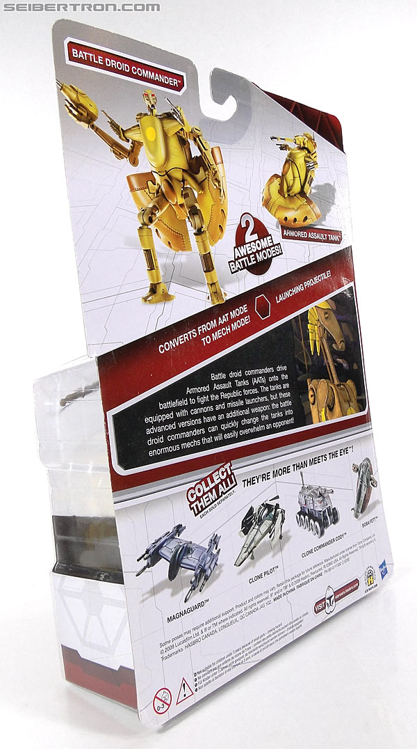 Star Wars Transformers Battle Droid Commader (Armored Assault Tank) (Battle Droid Commader) (Image #10 of 85)
