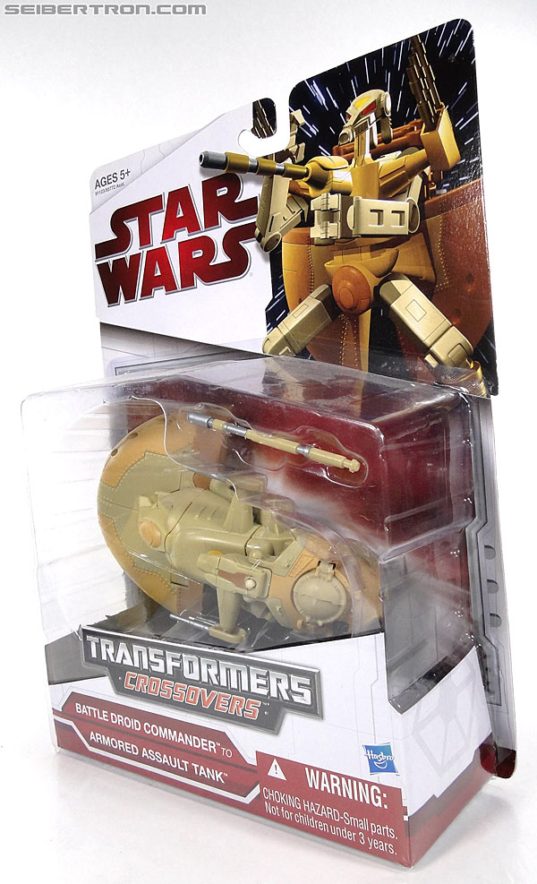 Star Wars Transformers Battle Droid Commader (Armored Assault Tank) (Battle Droid Commader) (Image #11 of 85)