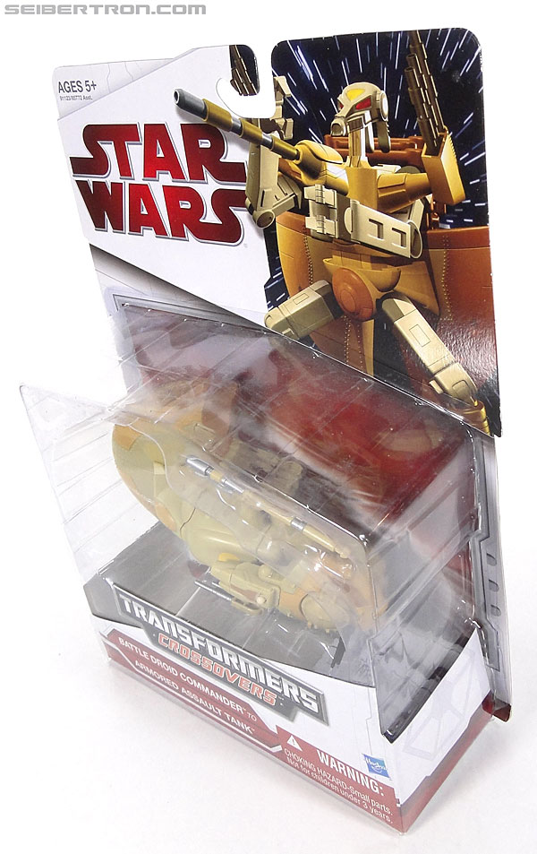 Star Wars Transformers Battle Droid Commader (Armored Assault Tank) (Battle Droid Commader) (Image #12 of 85)