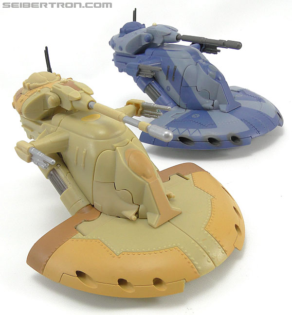 Star Wars Transformers Battle Droid Commader (Armored Assault Tank) (Battle Droid Commader) (Image #28 of 85)