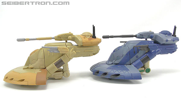Star Wars Transformers Battle Droid Commader (Armored Assault Tank) (Battle Droid Commader) (Image #32 of 85)