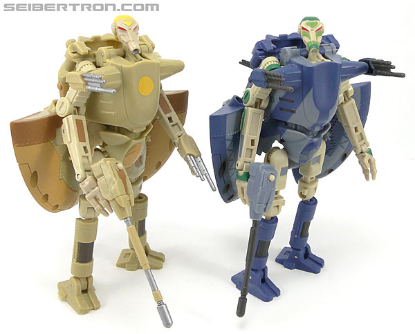 Star Wars Transformers Battle Droid Commader (Armored Assault Tank) (Battle Droid Commader) (Image #78 of 85)