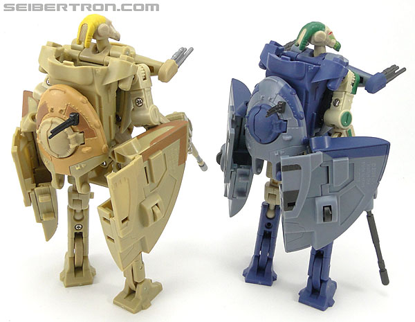 Star Wars Transformers Battle Droid Commader (Armored Assault Tank) (Battle Droid Commader) (Image #79 of 85)