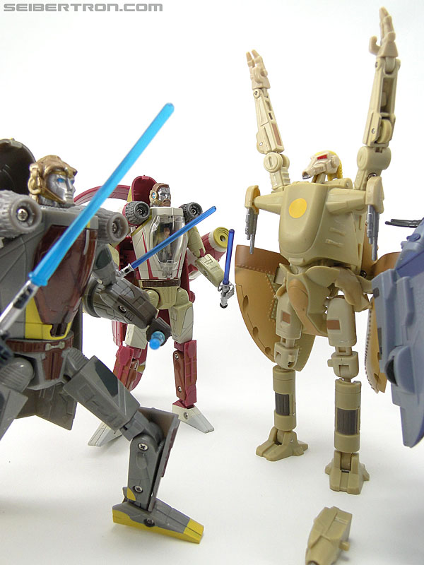 Star Wars Transformers Battle Droid Commader (Armored Assault Tank) (Battle Droid Commader) (Image #84 of 85)