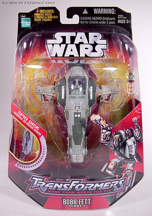 Star Wars Transformers Boba Fett (Slave I) (Image #1 of 82)