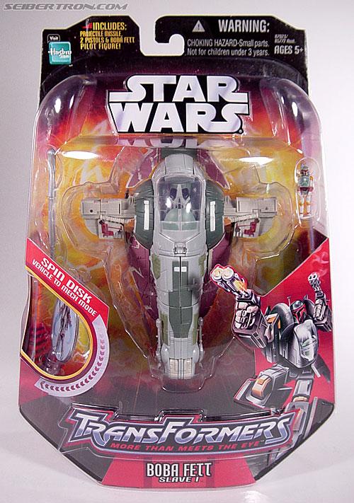 Star Wars Transformers Boba Fett (Slave I) (Image #1 of 82)
