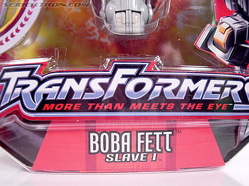 Star Wars Transformers Boba Fett (Slave I) (Image #2 of 82)