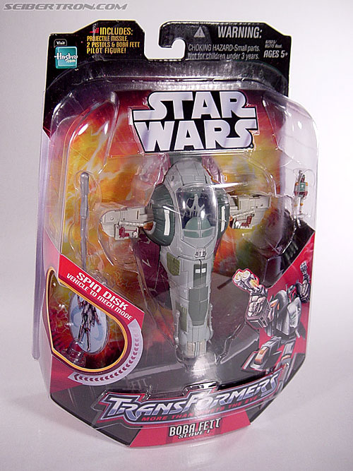 Star Wars Transformers Boba Fett (Slave I) (Image #4 of 82)